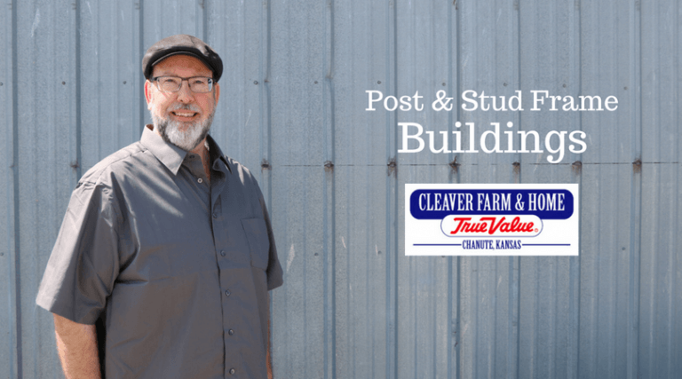 Post & Stud Frame Buildings